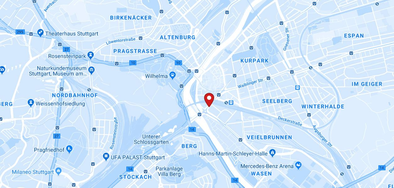 Karte mit Hartlieb Standort